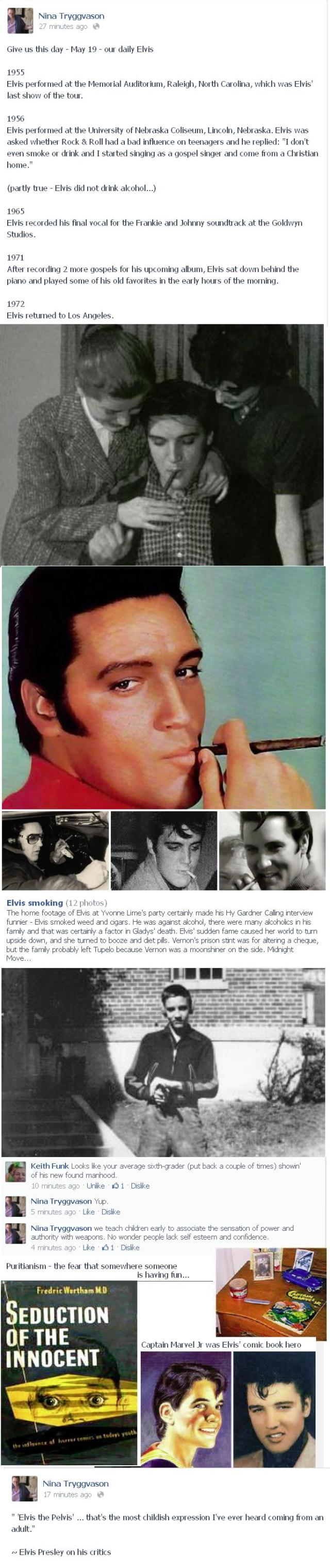 Smoking Elvis