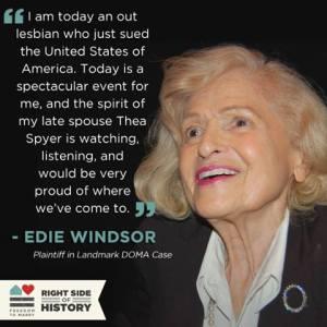 Edie Windsor