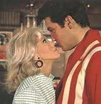 Elvis and Nancy in Speedway. Nancy threw Priscilla's Baby Shower while she and Elvis romanced