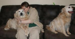 nina and dogs