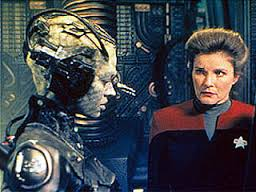 borg 7 and Janeway
