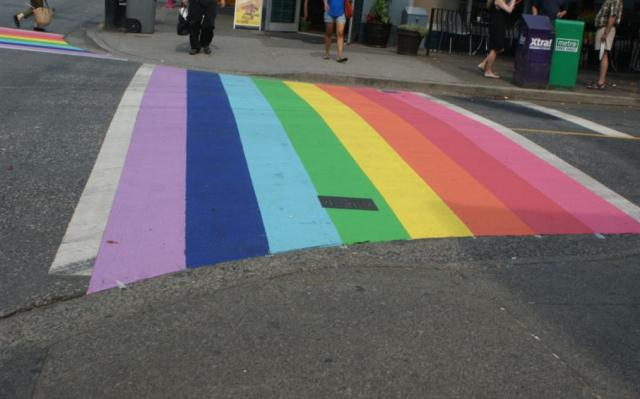 Rainbow crossing 3