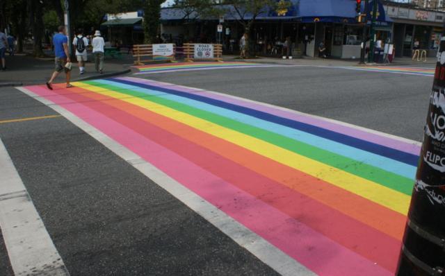 Rainbow crossing 4