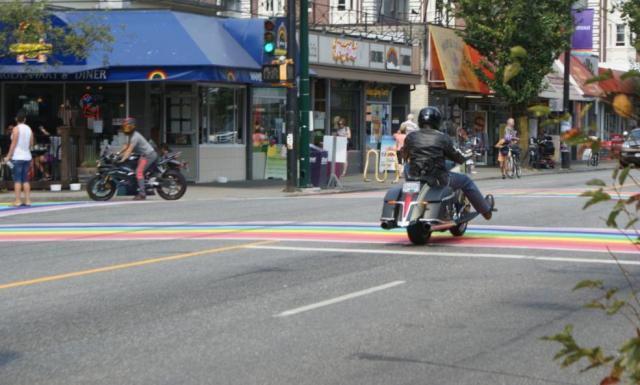 Rainbow crossing 7