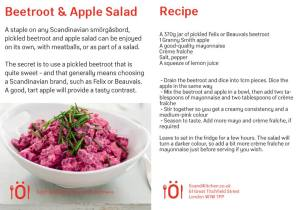 beet and apple salad