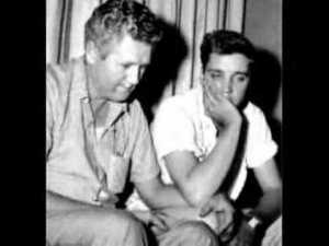 Elvis and Vernon grieve Gladys