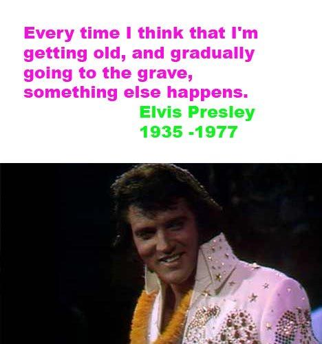 Elvis death quote