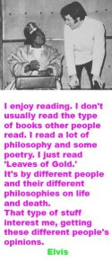 Elvis on reading