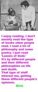 Elvis on reading