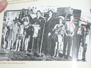 Elvis Tupelo fairgrounds 1945
