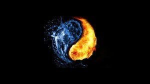 fire water ying yang