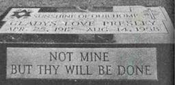 Glady original grave