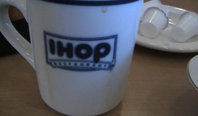 IHOP coffee