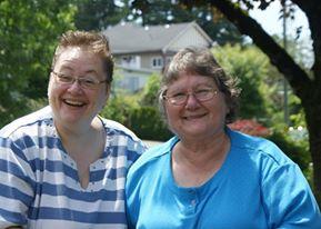 Nina and her Mom Sylvia