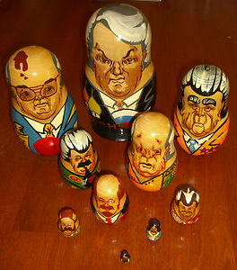 Russian Leader Stacking doll