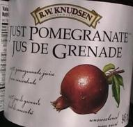RW Knudsen pomegrante
