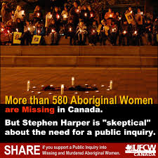 580 Aboriginal Woman missing