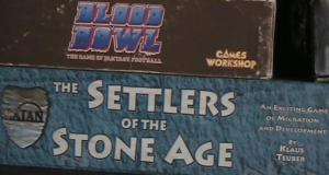 Blood Bowl and Settlers of the Stone Age