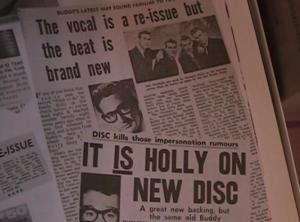 Buddy Holly clippings 4