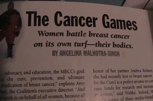 Cancer Games