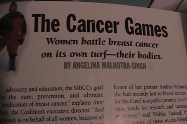 Cancer Games
