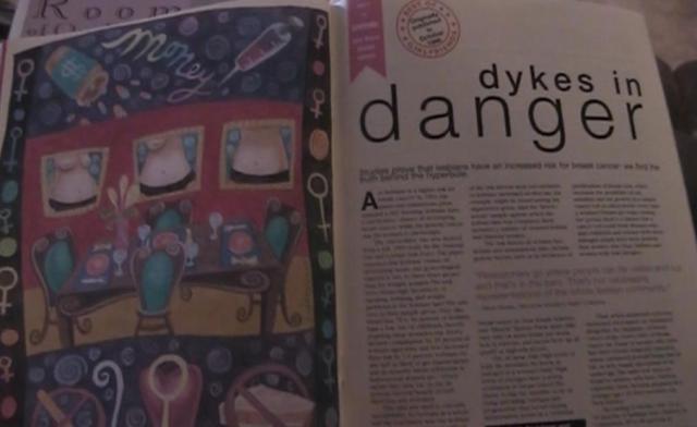 dykes in danger