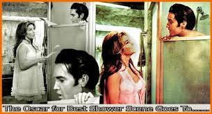 Elvis Showers with Girl