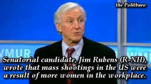 Jim Rubens shooting women quote