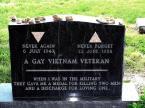 Lenard Matlovich grave marker