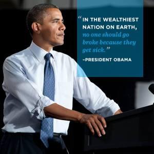 Obama quote on medical bills
