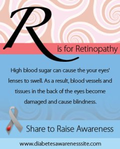 R is for retinopathy
