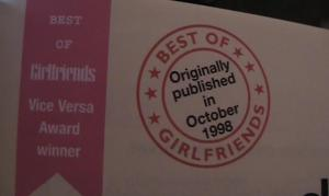 Vice Versa Award Winner Best Of Girlfriends