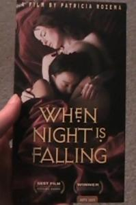 When Night is falling VHS