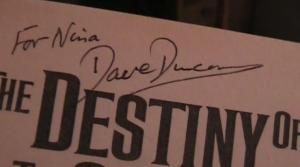 Dave Duncan autograph 2