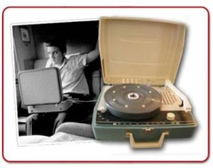 Elvis and portable player