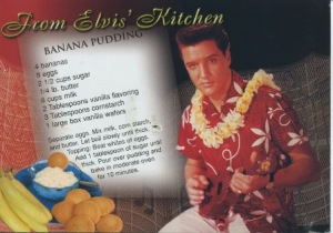 Elvis Banana Pudding