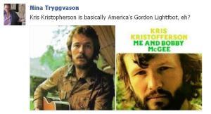Kris Kristofferson and Gordon Lightfoot