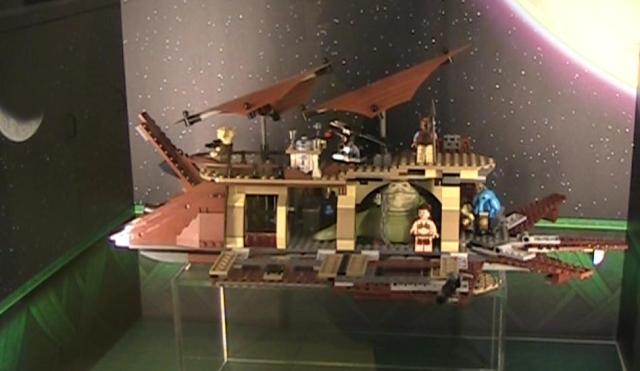 Lego Jabba Bardge