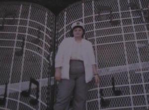 Nina at musical gates 1987