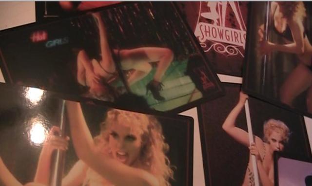 showgirl postcards