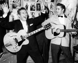 Elvis and Liberace guitars