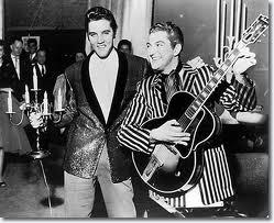 Elvis and Liberace jacket exchange