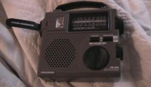 Grundig wind up radio