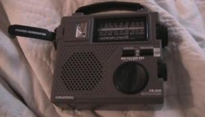 Grundig wind up radio