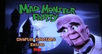 Mad Monster Party DVD menu