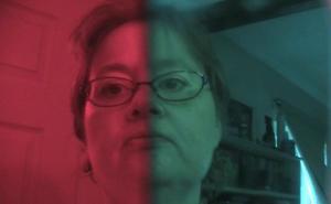 Nina red bllue