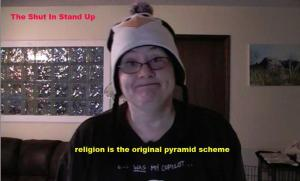 religion is a pyramid scheme