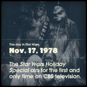 This day in Star Wars Holiday Special