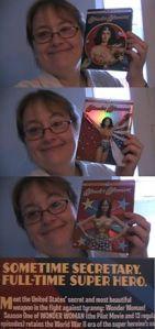 Wonder Woman Secretary Superhero