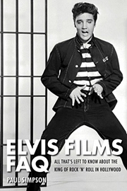 'Elvis Films FAQ' Book Review: Elvis' Hollywood years are full of mystery, and supposedly 'Elvis Films FAQ' covers them all! Elvis Films FAQ by author Paul Simpson explores his best and worst moments as an actor, analyses the bizarre autobiographical detail that runs through so many of his films, and reflects on what it must be like to be idolized by millions around the world yet have to make a living singing about dogs, chambers of commerce, and fatally naive shrimps. After all if Elvis Presley had not wanted to be a movie star, he would never have single-handedly revolutionized popular culture. Yet this aspect of his phenomenal career has been much maligned and misunderstood – partly because the King himself once referred to his 33 movies as a rut he had got stuck in just off Hollywood Boulevard.    full review: http://www.elvisinfonet.com/book_review_elvis_films_FAQ.html